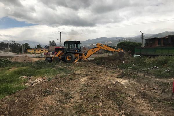 Se reiniciaron obras de mejoramiento vial Nobsa-Chámeza