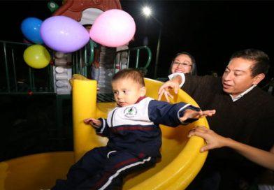 Primera infancia de Zetaquira cuenta con parque especializado