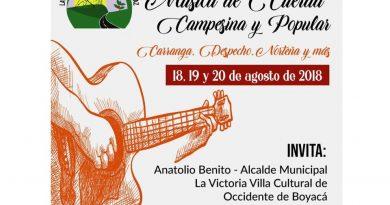 Segundo Festival de música de cuerda campesina y popular en la Victoria