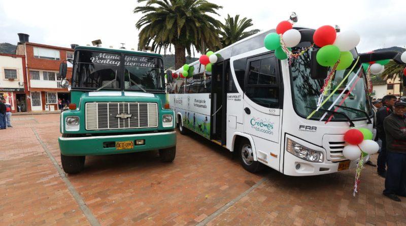Ventaquemada pasó de tener un bus escolar deteriorado a uno moderno y seguro